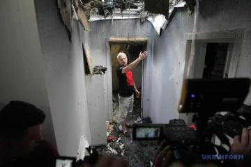 ゼレンシキー大統領、活動家自宅放火につき「非常に心配で悲しい」