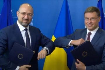Ukraina podpisała umowę pożyczkową z UE na 1,2 mld euro - Szmyhal