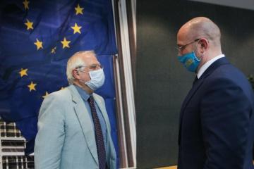 Shmygal: Ucrania espera firmar un Acuerdo sobre el Espacio Aéreo Común con la UE lo antes posible