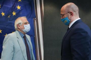 Chmygal : l'Ukraine compte sur la création d'un espace aérien commun avec l'UE
