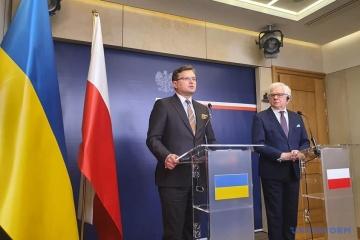ウクライナはポーランドをクリミア脱占領プラットフォームに招待している=クレーバ外相