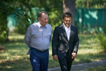 クチマ元大統領、三者グループのウクライナ代表を辞任