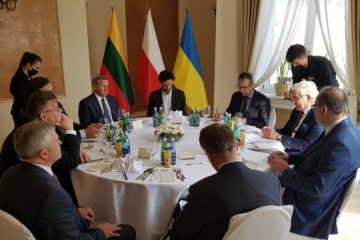 Ukraine, Lithuania, Poland create 'Lublin Triangle' format of cooperation