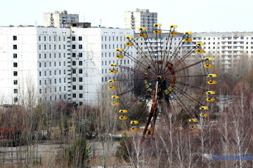 124,000 tourists visited Chornobyl last year