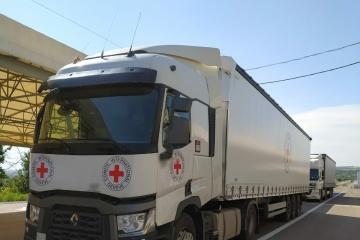 La Croix-Rouge a envoyé 40 tonnes d'aide humanitaire dans le Donbass