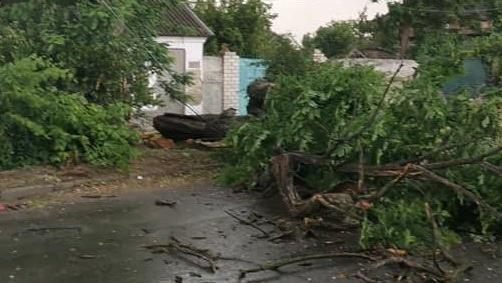 Затоплені будинки та потрощені авто: у Херсоні випала півмісячна норма дощу