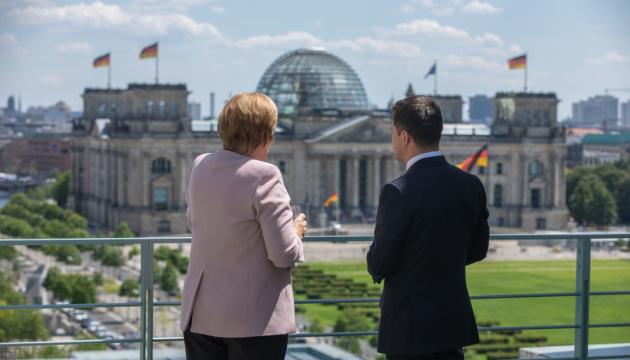 Зеленский поздравил Германию с началом председательства в Совете ЕС