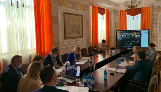Платформа міжнародної дії зі звільнення політв'язнів провела установче засідання - МЗС