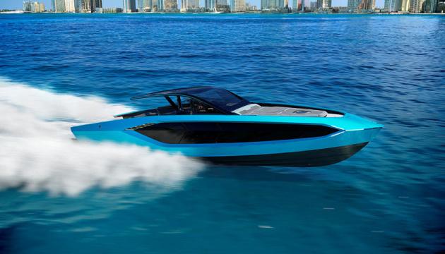 Lamborghini представила люксовую яхту с двигателем на четыре тысячи
