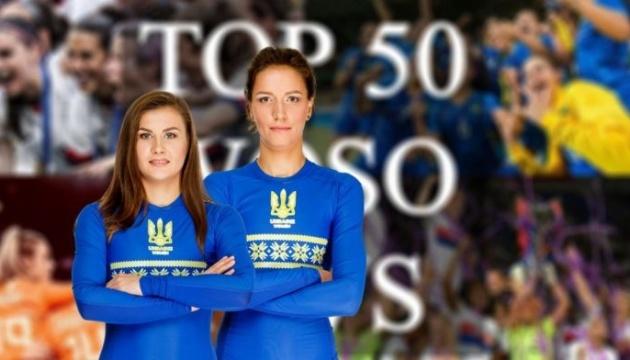 Две украинки вошли в ТОП-10 рейтинга лучших футболисток мира