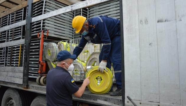Прикарпатье получило от Швеции гумпомощь для восстановления после паводка