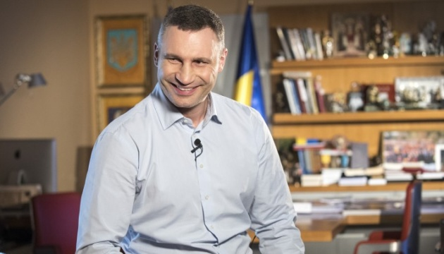 Sixty percent of Kyiv residents happy with Klitschko's activity as mayor