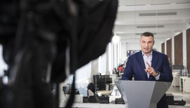 Кличко опублікував відео із обшуками в будинку, де він мешкає