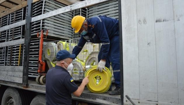 Suecia envía una ayuda humanitaria tras la inundación en el oeste de Ucrania