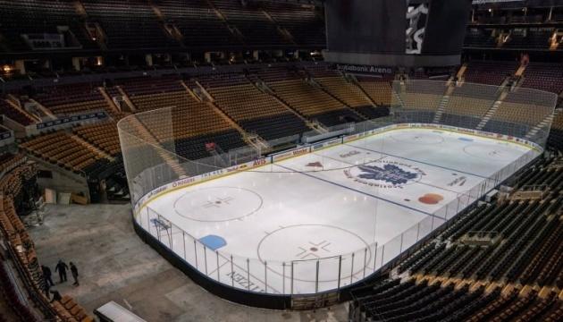Сезон НХЛ дограють у двох канадських містах