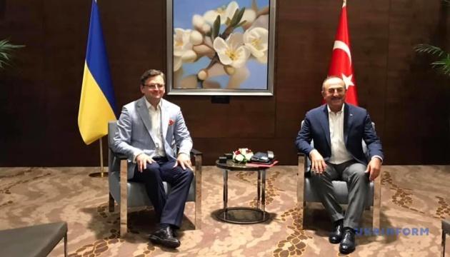 В Анталії стартували переговори глав МЗС України та Туреччини