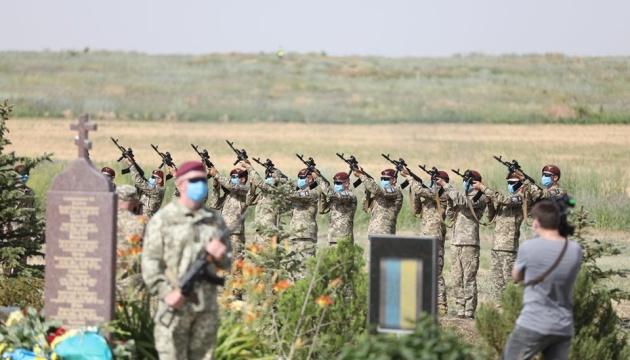 На горі Карачун відзначили шосту річницю звільнення Слов'янська