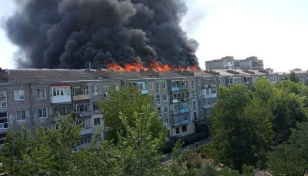 Пожежа в Новій Каховці: постраждалих планують відселити