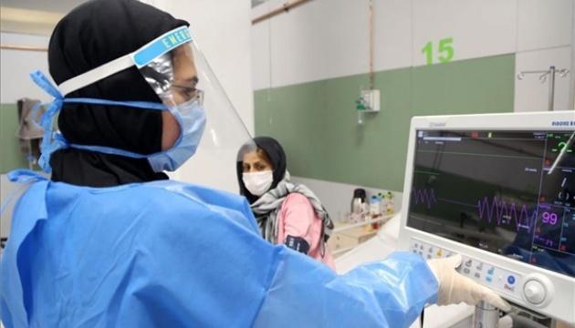 В Ірані за добу померли 163 особи, хворі на COVID-19