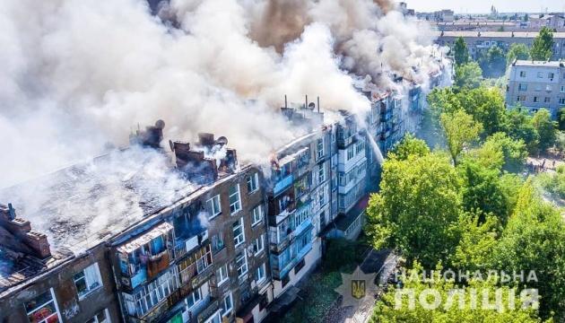 У Новій Каховці затримали можливого винуватця пожежі