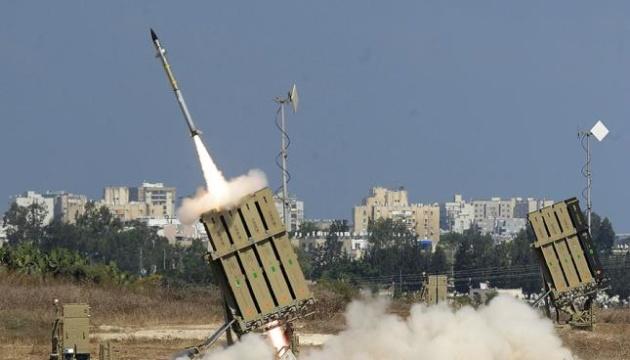 Ізраїль перехопив ракети, запущені з сектора Гази, та завдав удару у відповідь