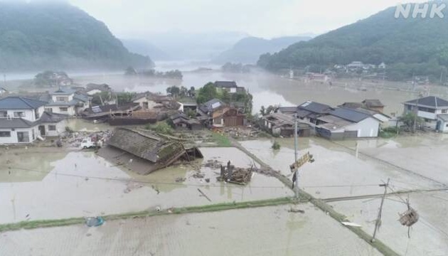 В Японії через зливи загинули 52 особи