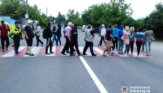 На Буковині вже сьомий день перекривають державну трасу