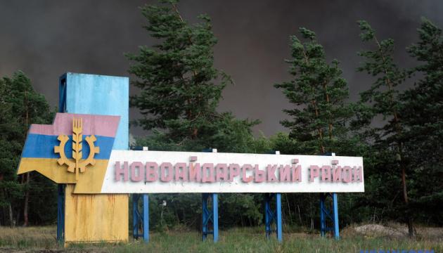 На Луганщині від вогню постраждали 5 тисяч гектарів - голова ОДА