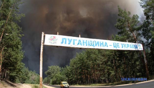 Пожары на Луганщине: в больницах – 24 пострадавших, из них 15 детей