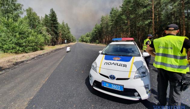 Пожежі на Луганщині: у поліції розповіли про ситуацію в найбільш постраждалому селі