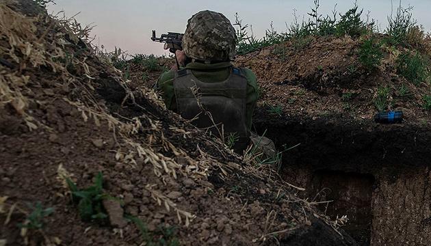 Окупанти застосовують 120-мм міномети і гранатомети, втрат немає