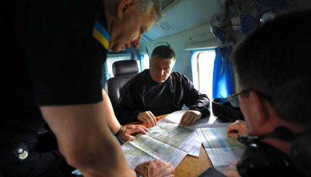 Аваков, Данілов і Клименко прибули на Луганщину
