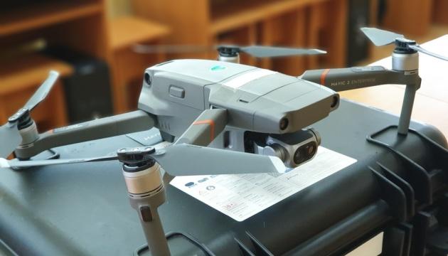 Wielka Brytania przekazała ukraińskiej straży granicznej 10 quadcopterów