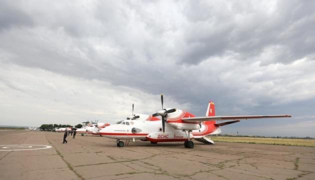 Авіація для гасіння пожеж на Луганщині вже у повітрі — Аваков