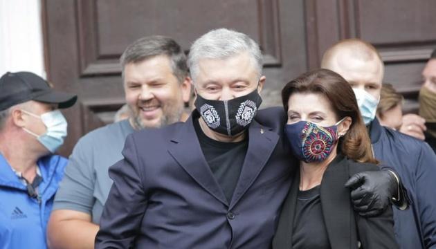 Poroschenko aus dem Krankenhaus entlassen