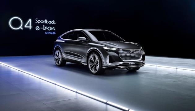 Audi представила концепт спортивного електрокара