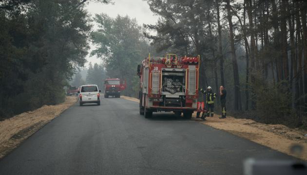 Лісові пожежі на Луганщині остаточно ліквідували