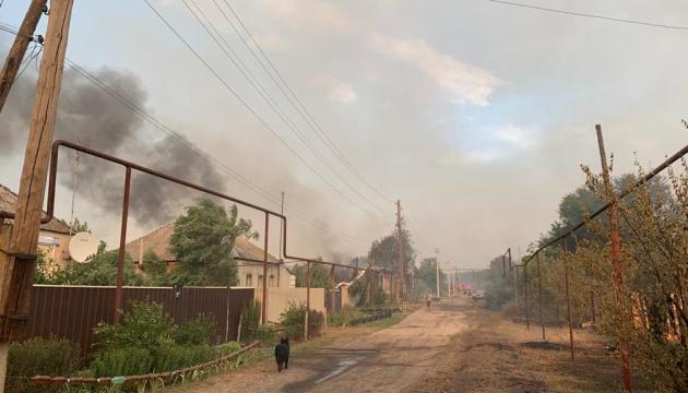 Пожежі на Луганщині: триває гасіння осередків тління у двох лісництвах