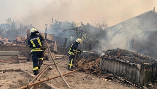 Поліція перевіряє версію про займання лісу на Луганщині через обстріл з боку ОРДЛО