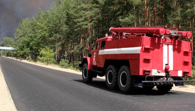 Nach Waldbränden in der Ostukraine: Mülldeponie brennt in Sjewjerodonezk
