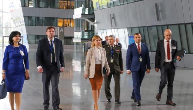 Стефанишина: Украина и НАТО стремятся возобновить работу Комиссии на уровне министров