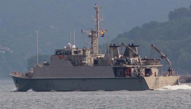 Чотири кораблі протимінної групи НАТО увійшли в Чорне море