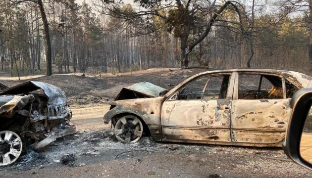 У прокуратурі розповіли про розслідування пожеж на Луганщині