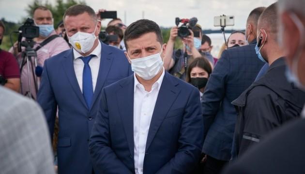 Präsident Selenskyj in Wolhynien angekommen