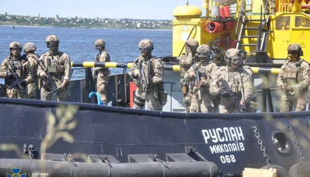 СБУ провела антитеррористические учения на море