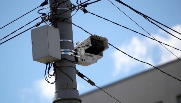 На дорогах у лютому планують встановити 220 камер спостереження