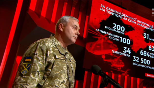 Наев сказал, сколько российских военных сейчас находятся на границе с Украиной