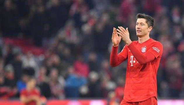 Левандовський визнаний кращим гравцем сезону німецької Бундесліги