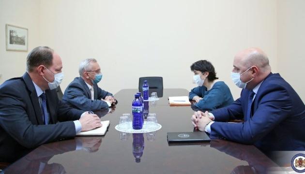 МИД Грузии вновь вызвал посла Украины после заявлений Саакашвили
