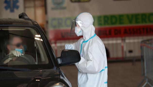 В Італії третій день поспіль зростає кількість нових випадків коронавірусу